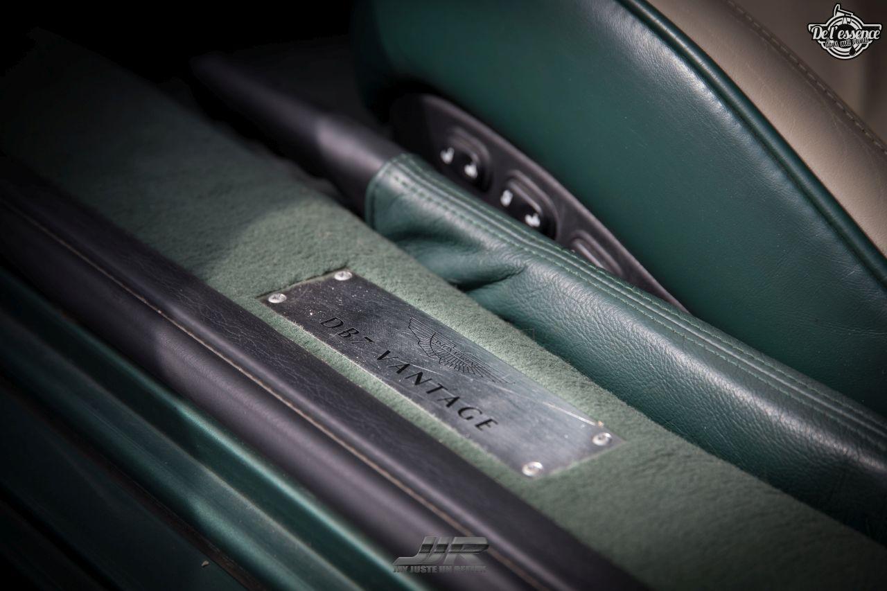 L'Aston Martin DB7 d'Hedi - Champagne, petits fours et clef de 13... 6