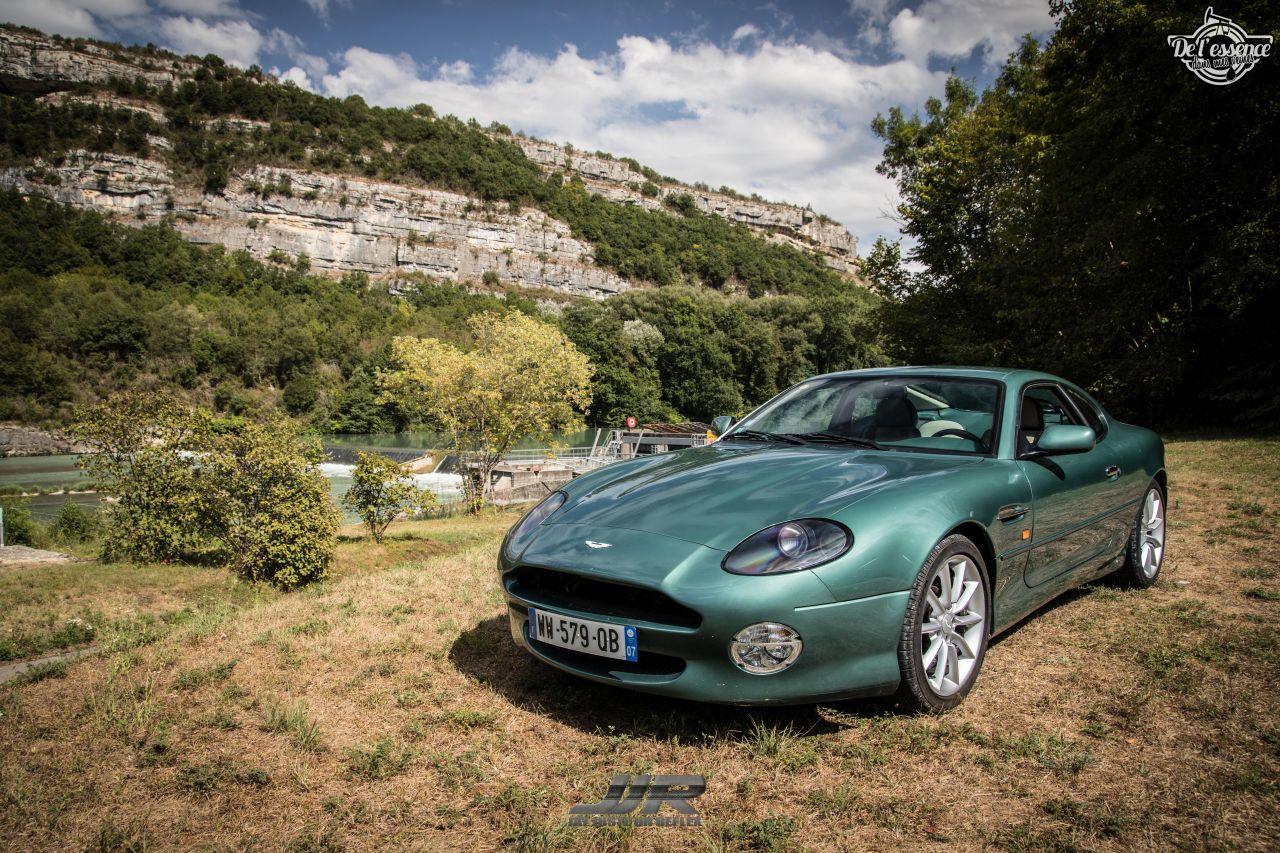 L'Aston Martin DB7 d'Hedi - Champagne, petits fours et clef de 13... 5