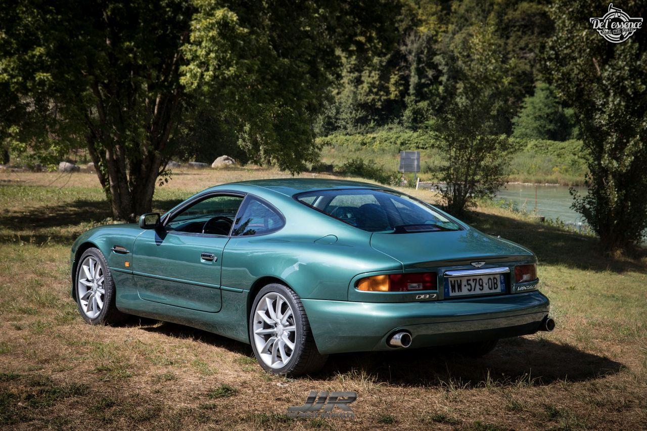 L'Aston Martin DB7 d'Hedi - Champagne, petits fours et clef de 13... 1