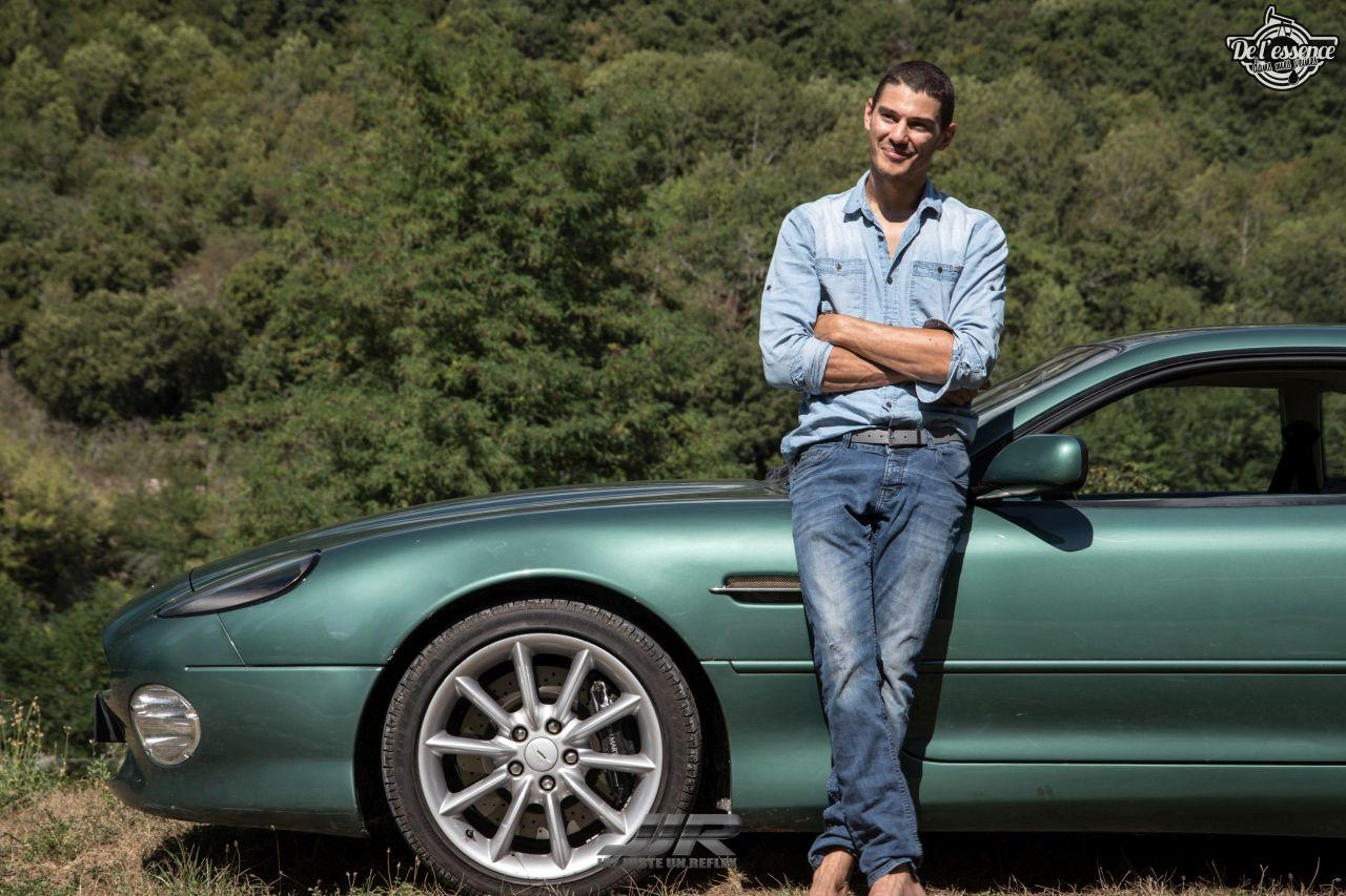 L'Aston Martin DB7 d'Hedi - Champagne, petits fours et clef de 13... 16