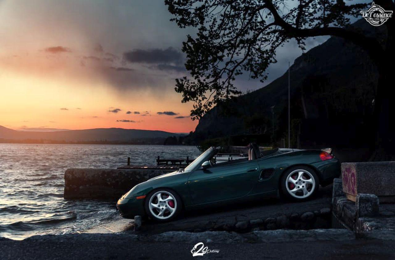 La Porsche Boxster S de Guillaume - Champagne Shower ! 3