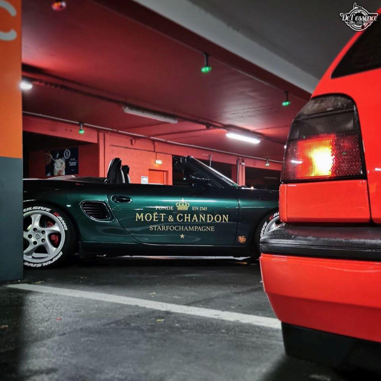 La Porsche Boxster S de Guillaume - Champagne Shower ! 1