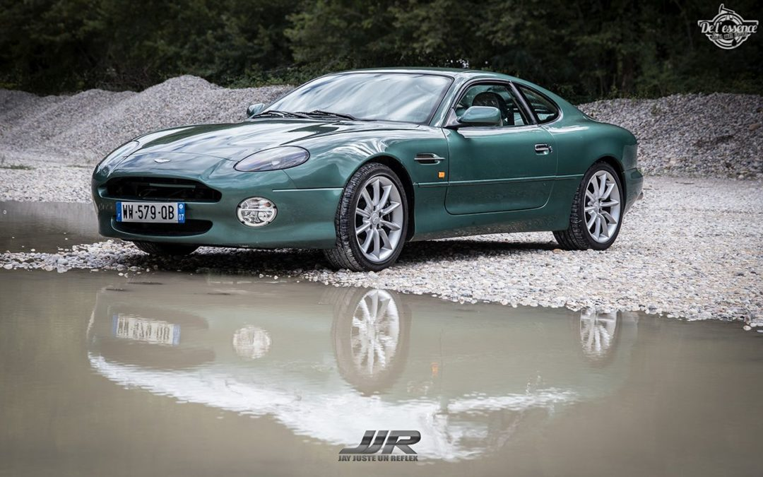 L'Aston Martin DB7 d'Hedi – Champagne, petits fours et clef de 13…