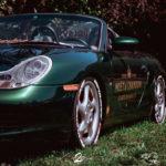 La Porsche Boxster S de Guillaume - Champagne Shower !