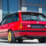 '89 BMW E30 Touring 325i Turbo... Rouge comme l'enfer !