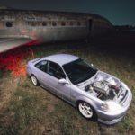Coupé Honda Civic EJ...2000 - Et en mode propu...