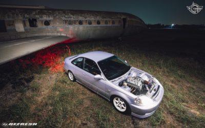 Coupé Honda Civic EJ…2000 – Et en mode propu…