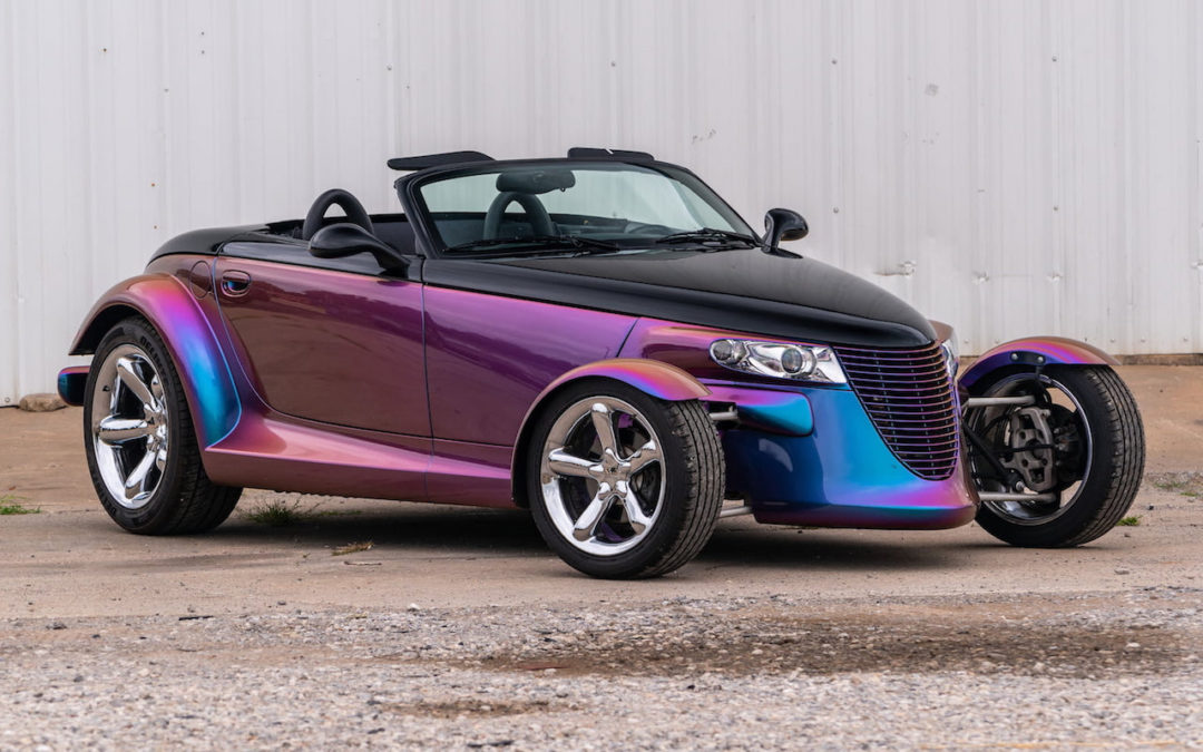 Plymouth Prowler… Bouquet final !