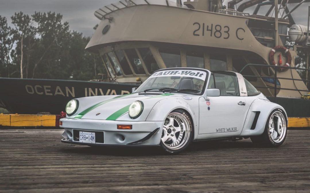 Porsche 964 Targa RWB – White Walker…