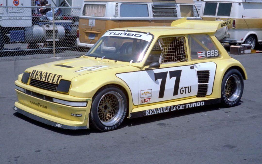 Renault Le Car Turbo GTU IMSA – De l'autre côté de l'Atlantique !