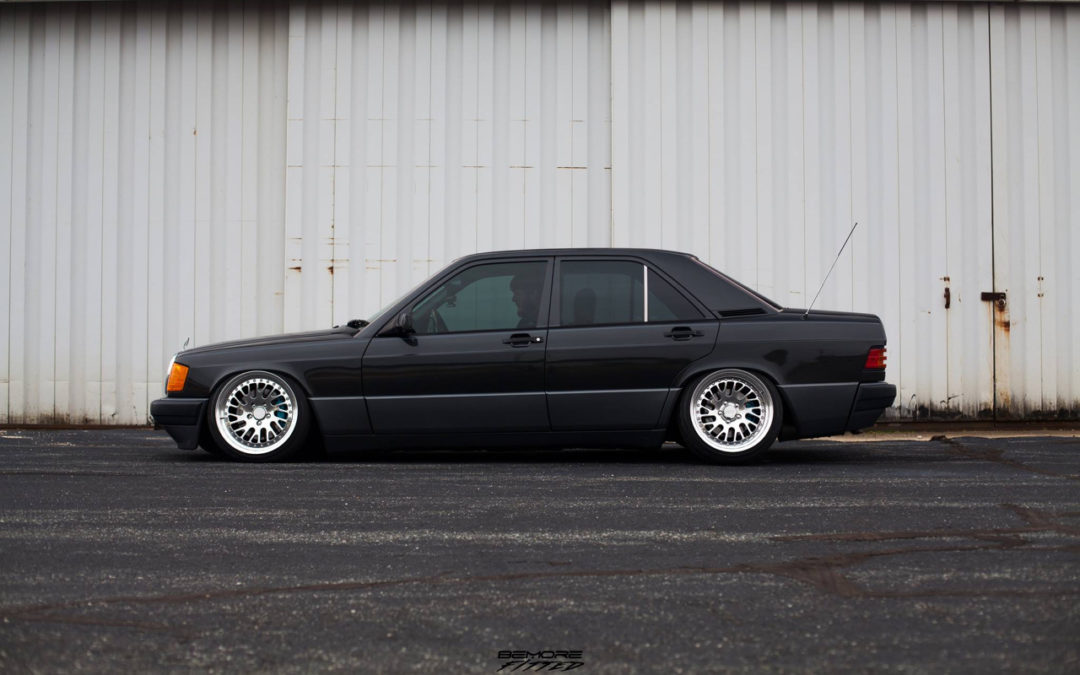 Mercedes 190… Clean & Class !