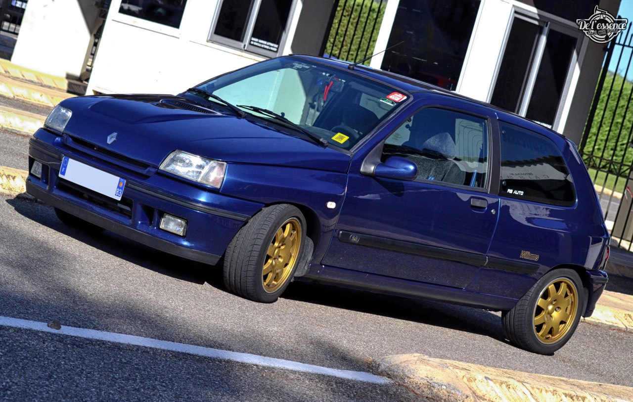 '95 Clio Williams de Mathias... Enfin ! 6