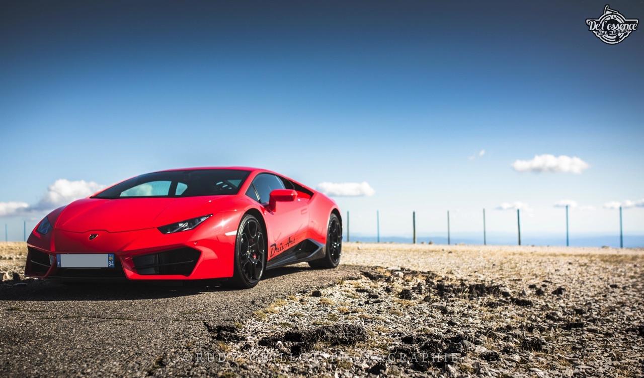 Lamborghini Huracan LP580-2 : En altitude... 1