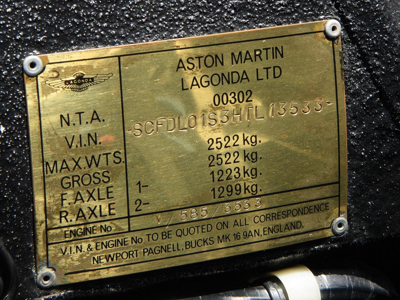 Aston Martin Lagonda Shooting Brake - One shot ! 5