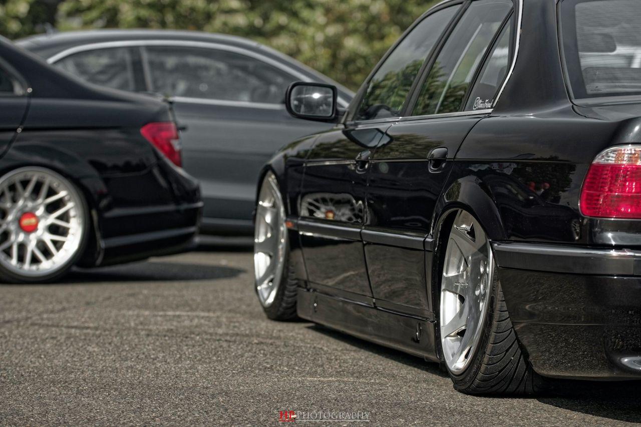 La BMW 728i de Max - E38 (encore) poséééee ! 3