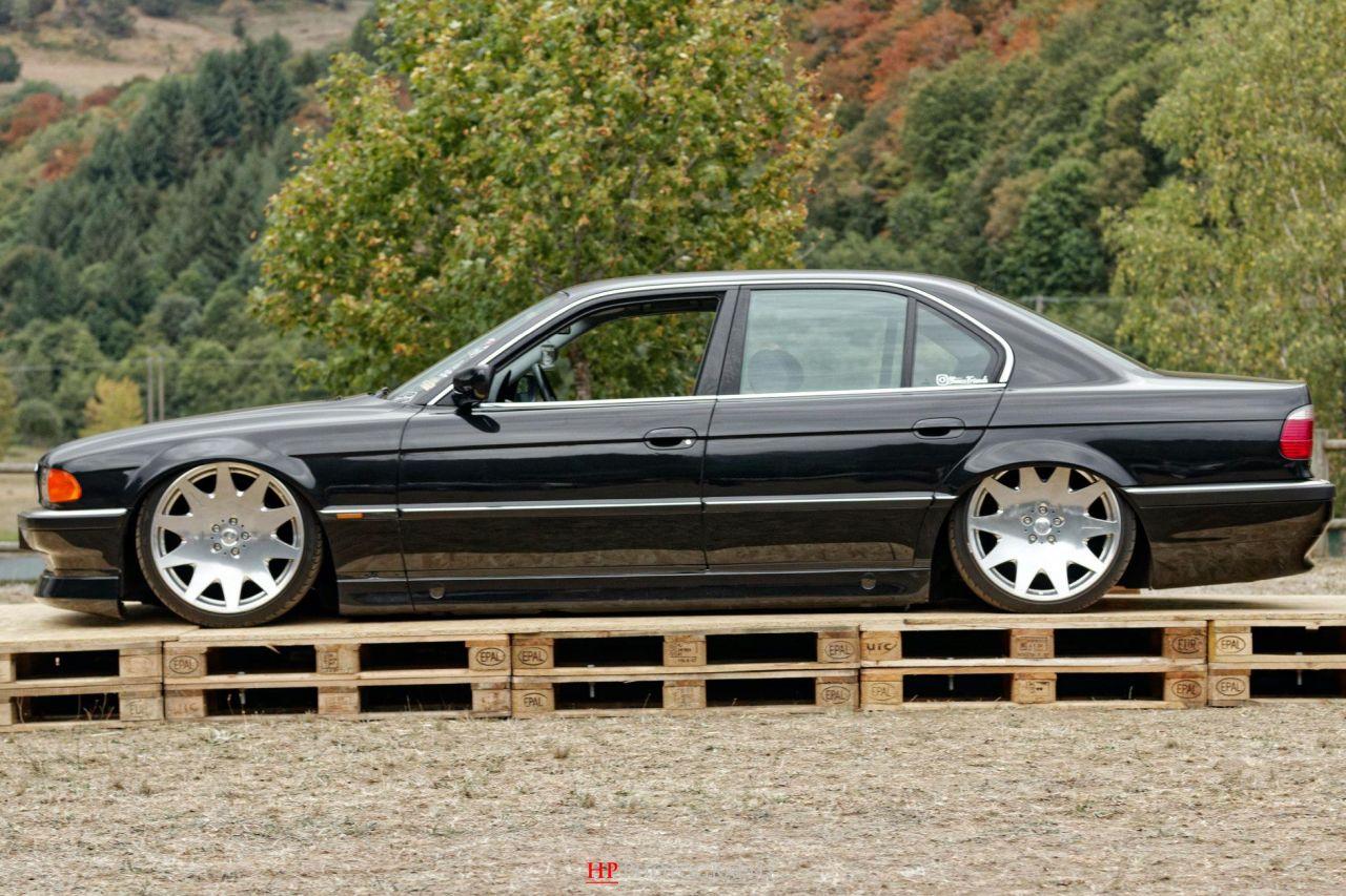 La BMW 728i de Max - E38 (encore) poséééee ! 6