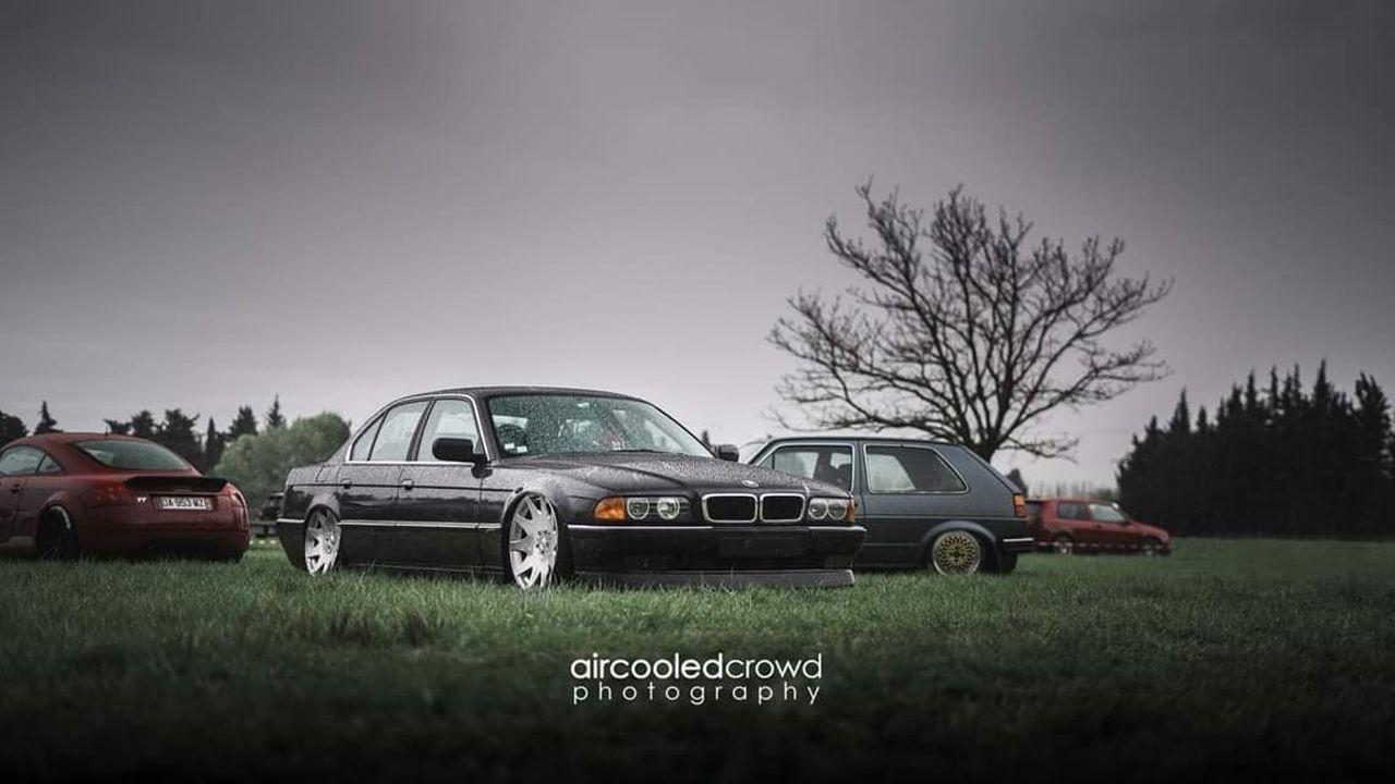 La BMW 728i de Max - E38 (encore) poséééee ! 7