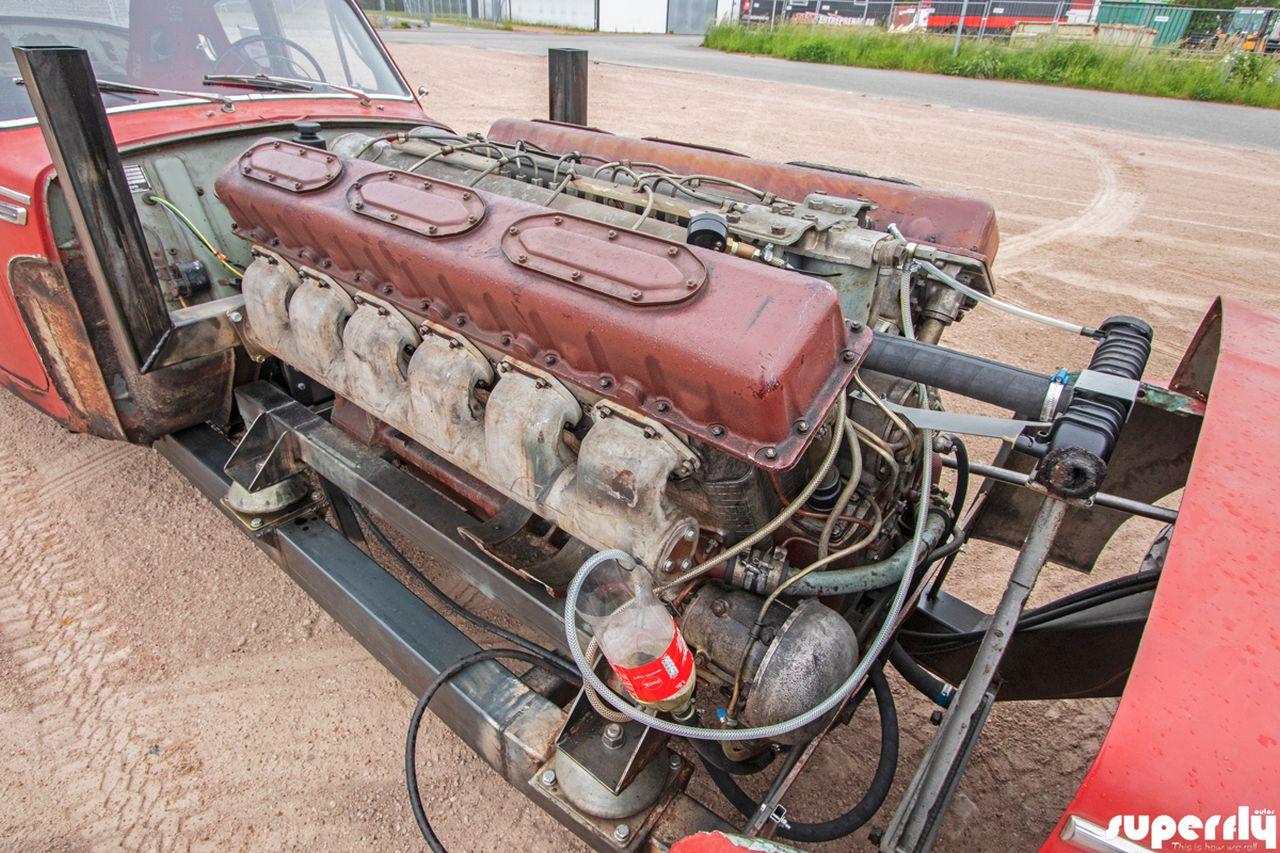 Volvo PV544 1960 Swap V12 - Rencontre avec un tank ! 5