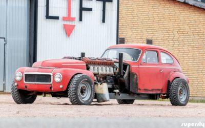 Volvo PV544 1960 Swap V12 – Rencontre avec un tank !