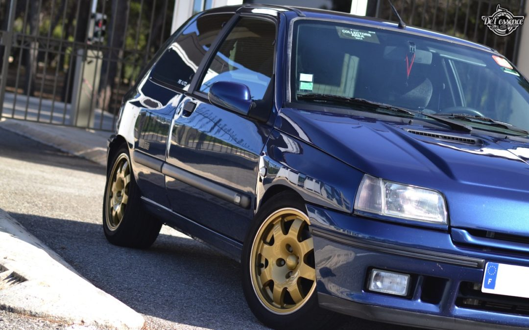 '95 Clio Williams de Mathias… Enfin !