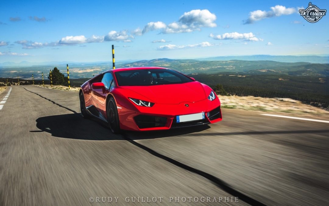 Lamborghini Huracan LP580-2 : En altitude…
