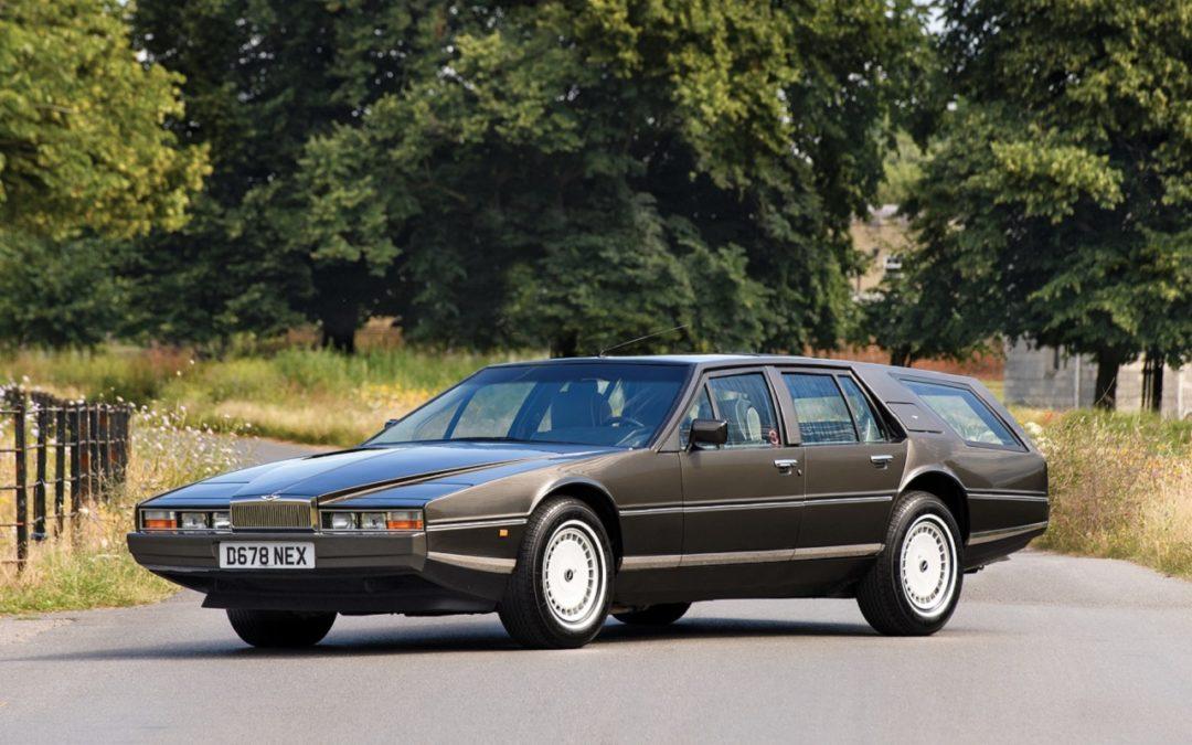 Aston Martin Lagonda Shooting Brake – One shot !