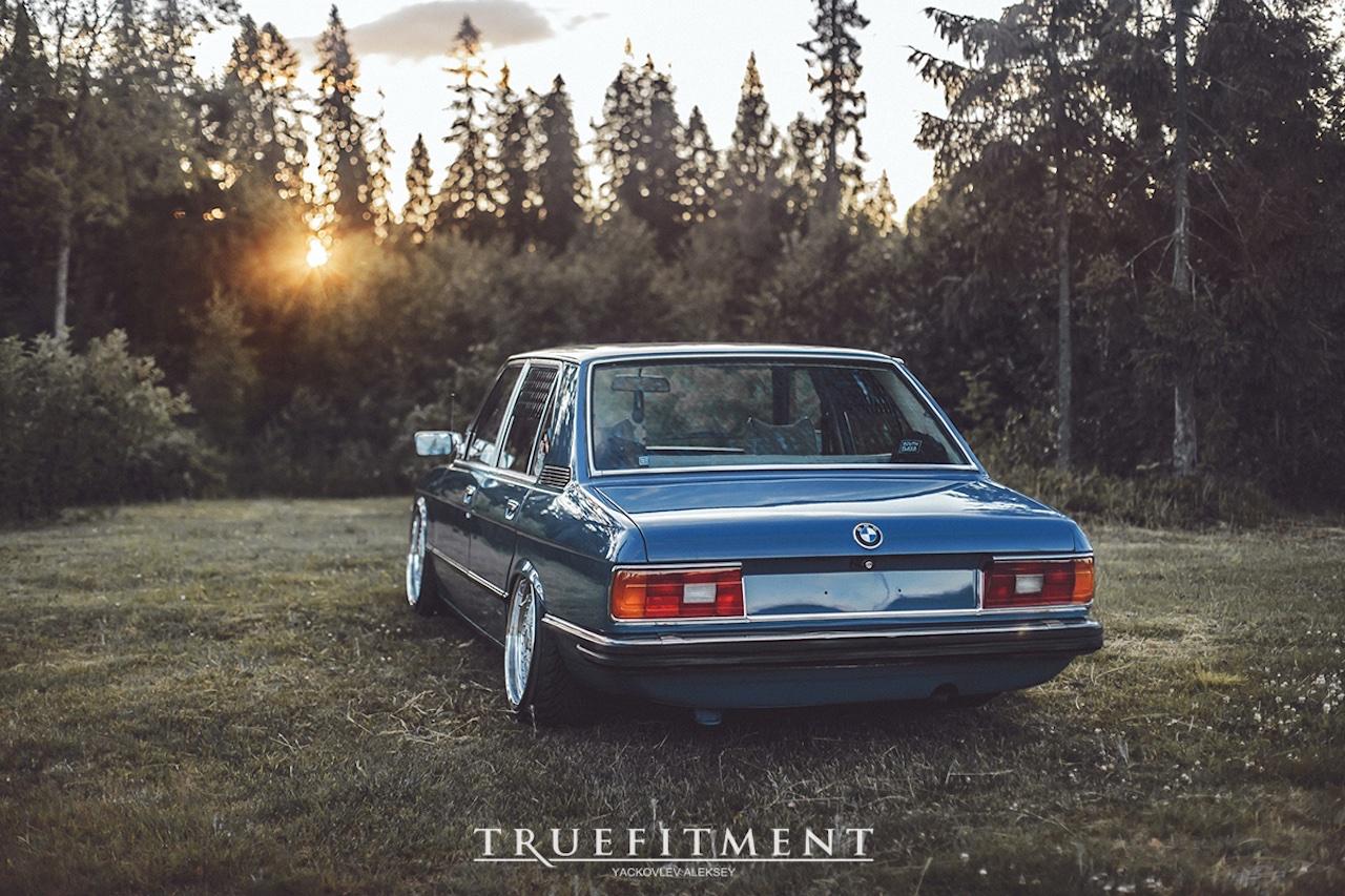 '81 BMW 518i E12 - Juste comme il faut ! 2