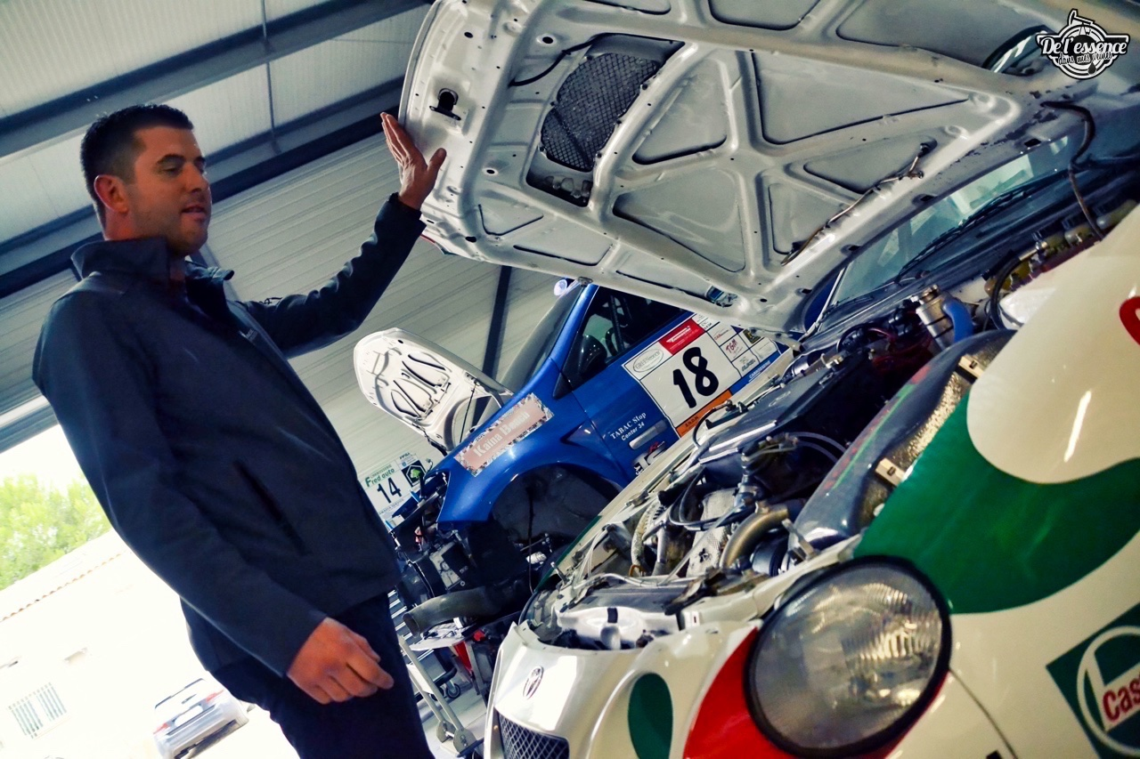 #Petrolhead : Eric Debaud - Custom Race Services - 100% Passion 18