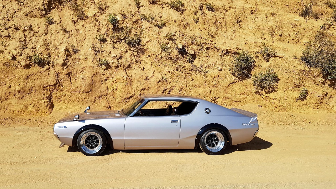 '73 Datsun 240K... Skyline GTR Replica 3