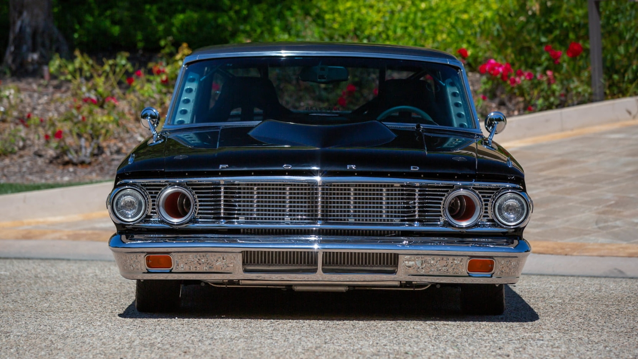'64 Ford Galaxie 500 Pro Street... Twin Turbocharged pour plus de 1000 ch ! 1