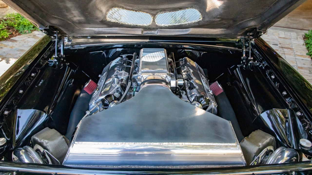 '64 Ford Galaxie 500 Pro Street... Twin Turbocharged pour plus de 1000 ch ! 8