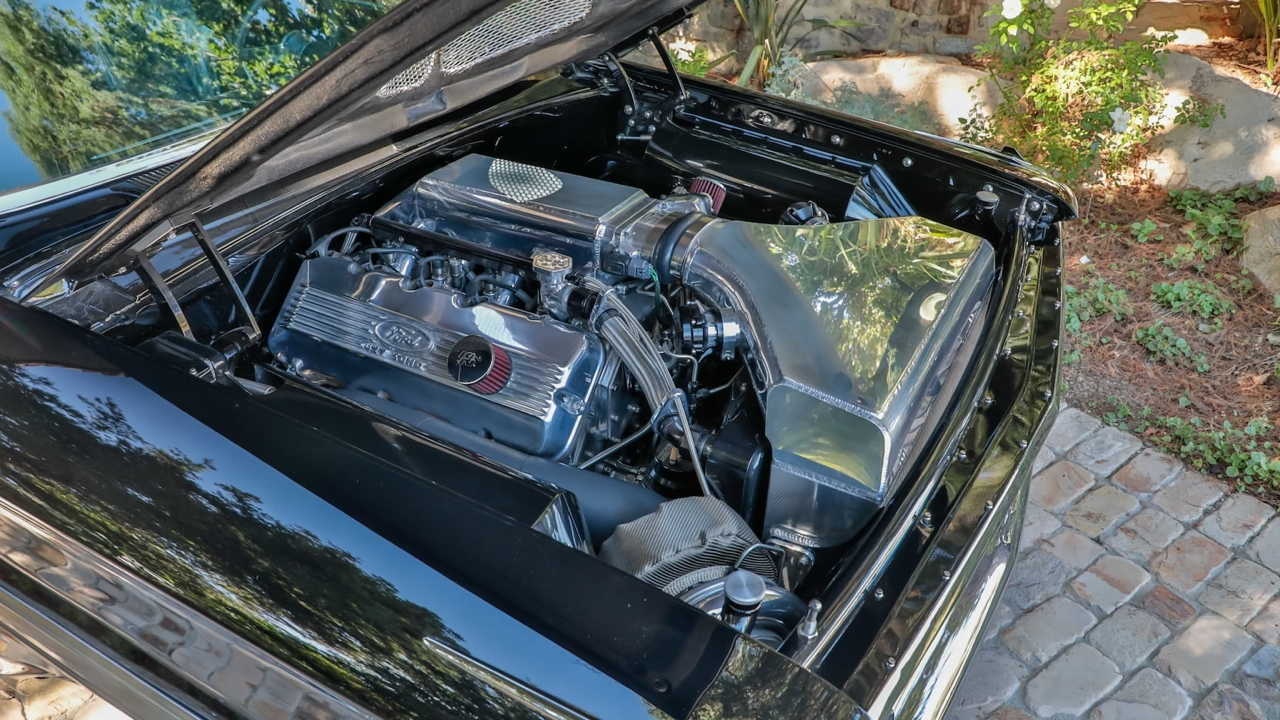 '64 Ford Galaxie 500 Pro Street... Twin Turbocharged pour plus de 1000 ch ! 9