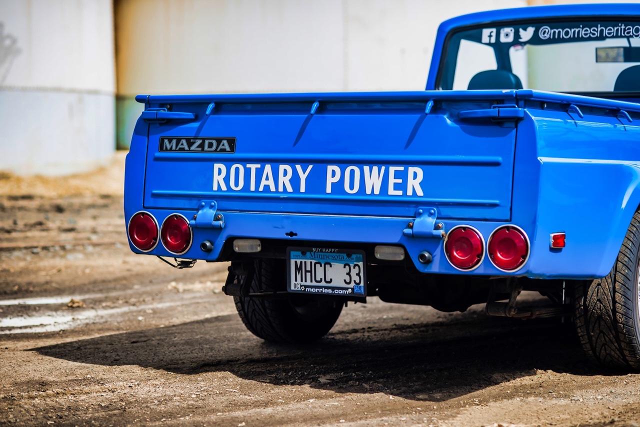 '77 Mazda Rotary Pick Up - Un roto dans mon utilitaire ! 6