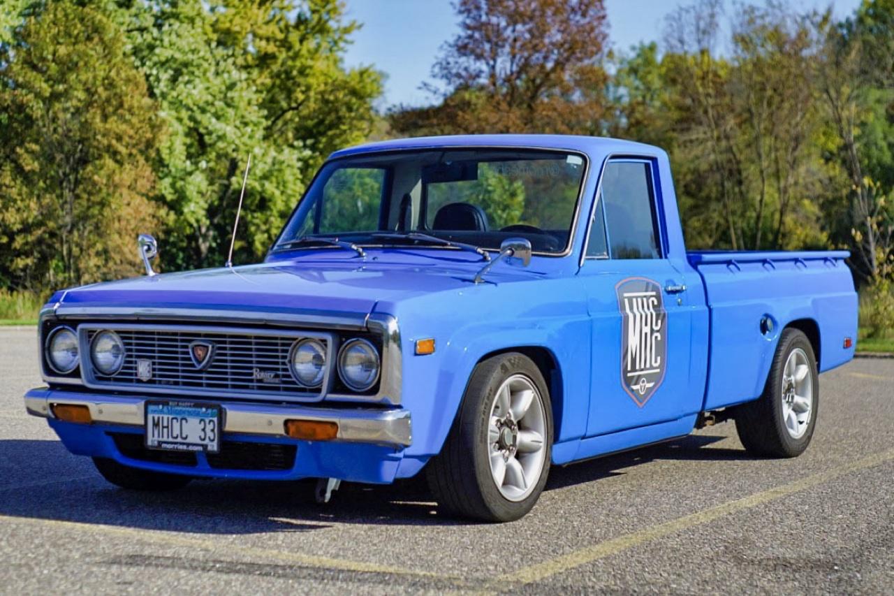 '77 Mazda Rotary Pick Up - Un roto dans mon utilitaire ! 1