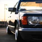 Bagged Mercedes 280 SE - Eighties on Air ! 5
