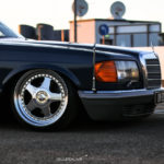 Bagged Mercedes 280 SE - Eighties on Air ! 6