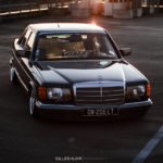 Bagged Mercedes 280 SE - Eighties on Air ! 9