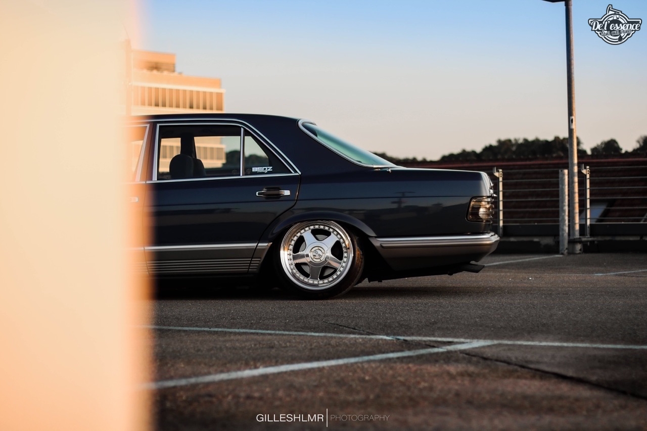 Bagged Mercedes 280 SE - Eighties on Air ! 15