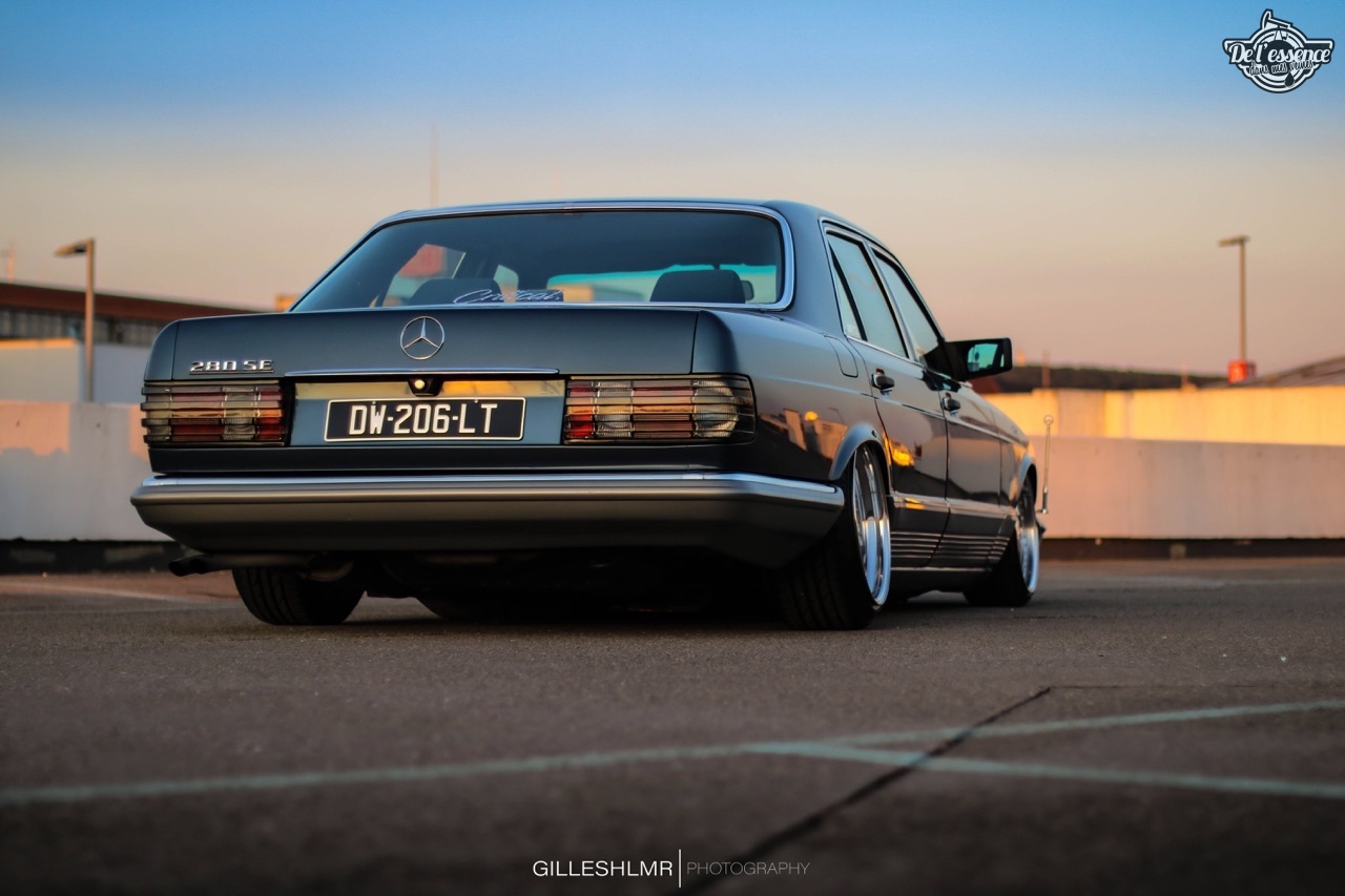 Bagged Mercedes 280 SE - Eighties on Air ! 14