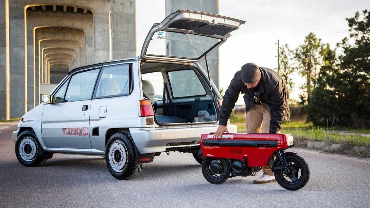 Honda City Turbo II + Motocompo - Combo Urbain Parfait ! 28