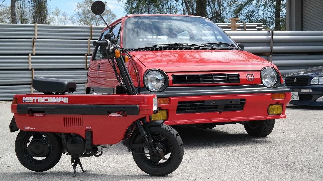 Honda City Turbo II + Motocompo - Combo Urbain Parfait ! 36