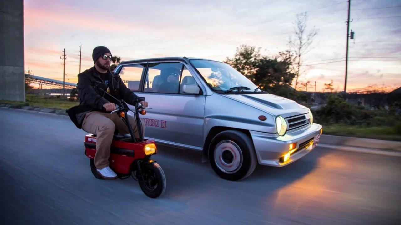 Honda City Turbo II + Motocompo - Combo Urbain Parfait ! 37