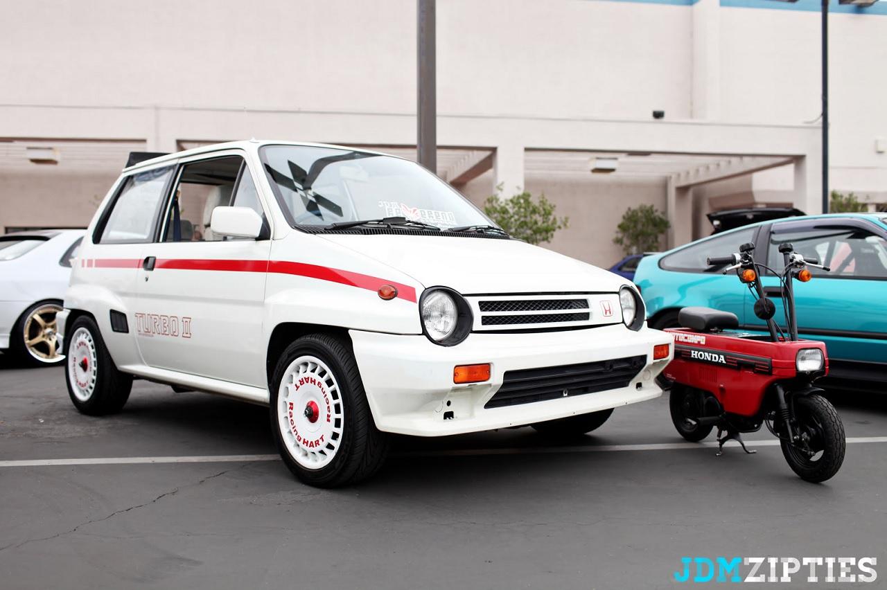 Honda City Turbo II + Motocompo - Combo Urbain Parfait ! 38