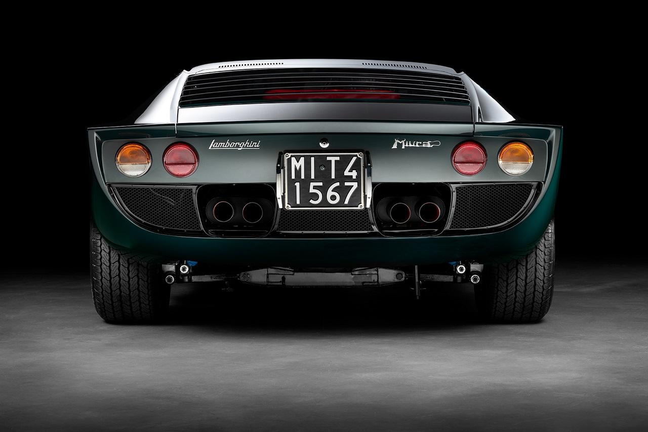 Lamborghini Miura P400S Millechiodi - Ça en fait des clous ! 21