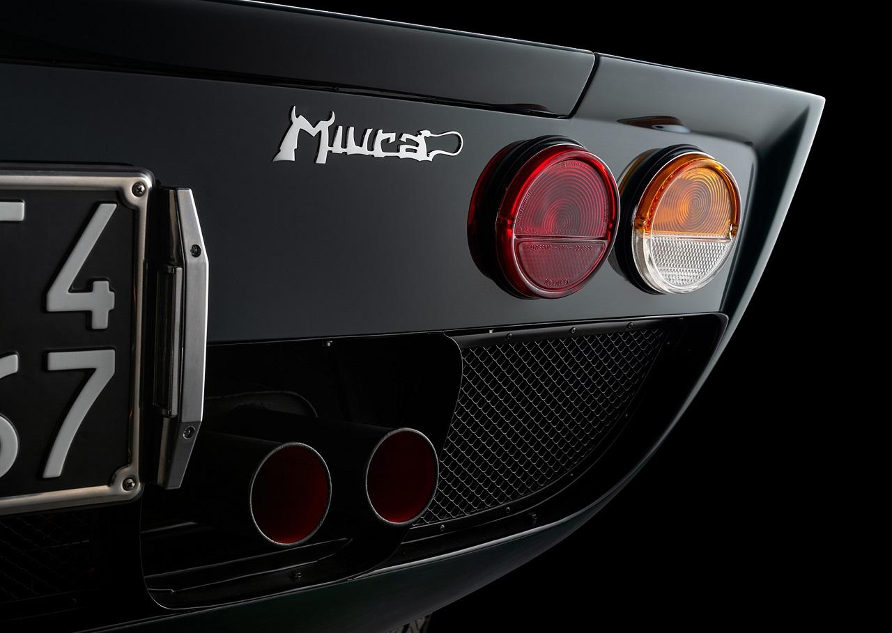 Lamborghini Miura P400S Millechiodi - Ça en fait des clous ! 24