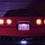 Chevrolet Corvette C4 1987 Stance - Ambiance Retrowave !