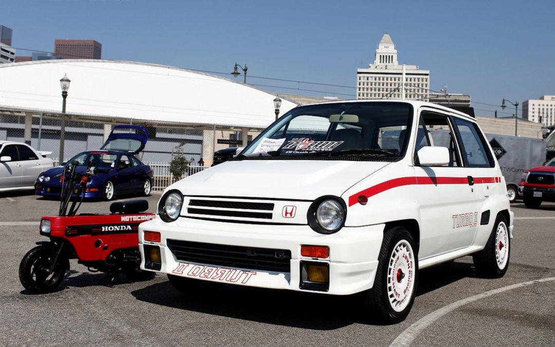 Honda City Turbo II + Motocompo – Combo Urbain Parfait !