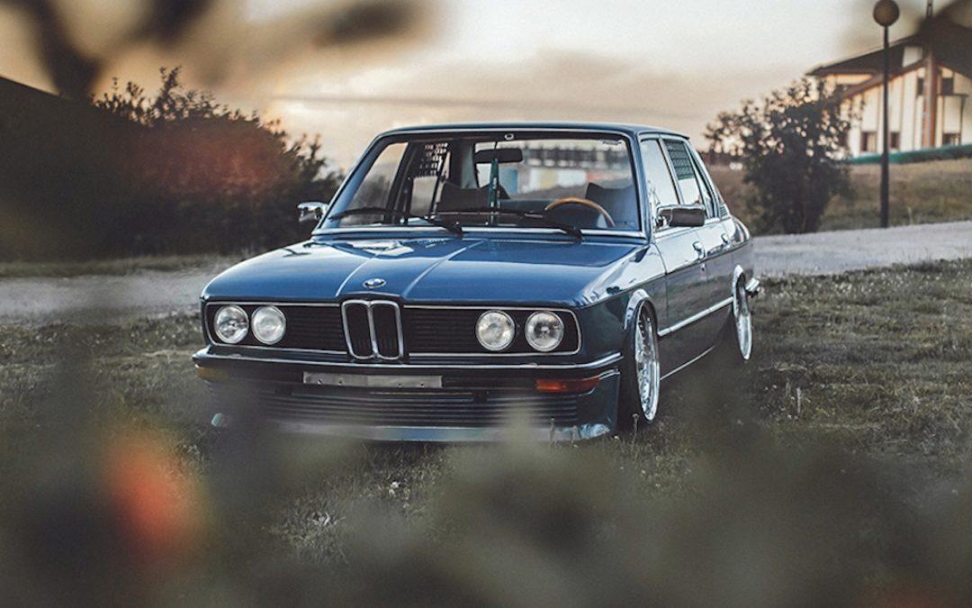 '81 BMW 518i E12 – Juste comme il faut !