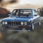 '81 BMW 518i E12 - Juste comme il faut !