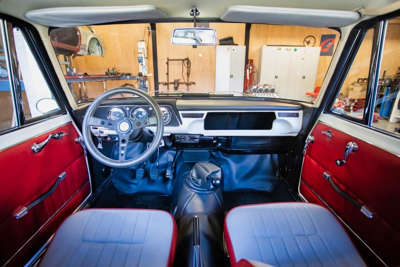 '71 Alfa Romeo Giulia 1300 Super... Enfin, Restomod 2100 Super plutôt ! 62
